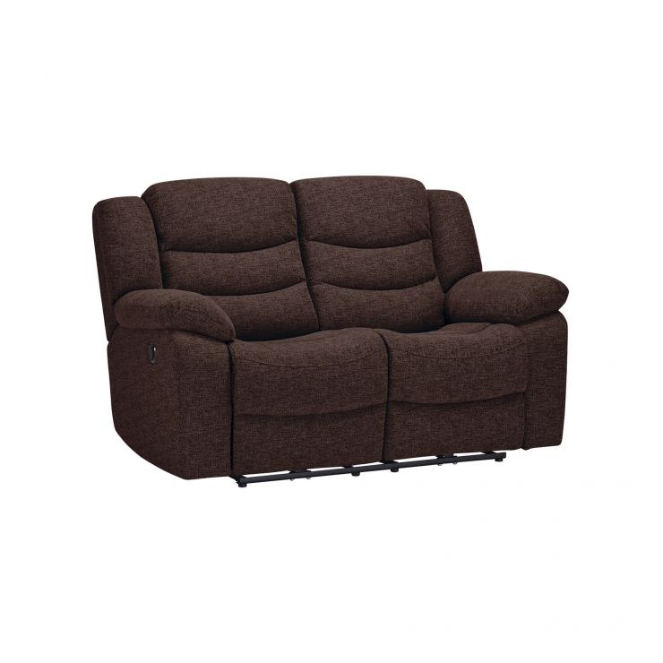 Grayson 2 Seater Electric Recliner Sofa Charcoal Fabric