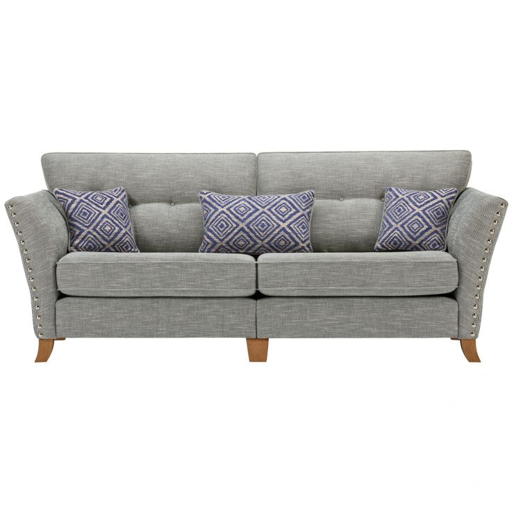 Grosvenor 4 Seater Sofa In Blue With Ters
