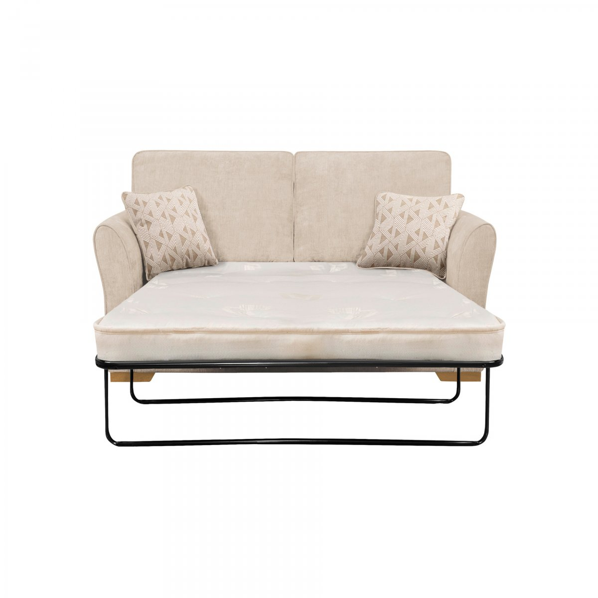Jasmine 2 seater sofa bed with deluxe mattress in cosmo linen for Sofa bed 180cm