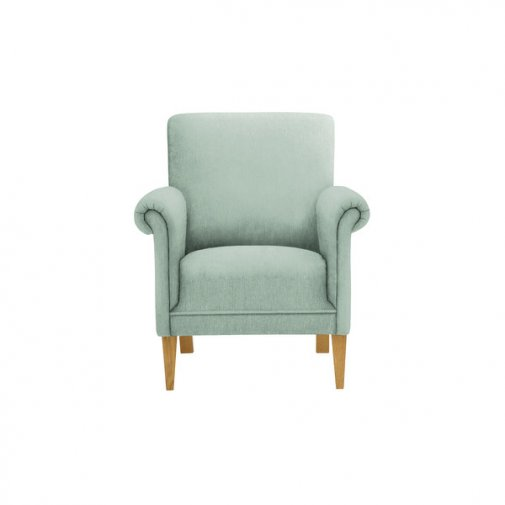 Jasmine Accent Chair in Cosmo Duck Egg