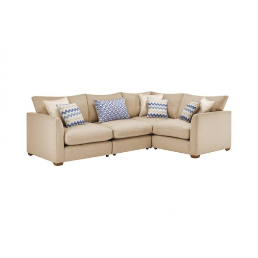 Maddox Modular Group 2 in Eleanor Beige with Cream Scatters