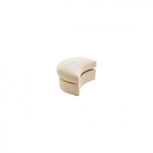 Maddox Twist Footstool in Eleanor Beige