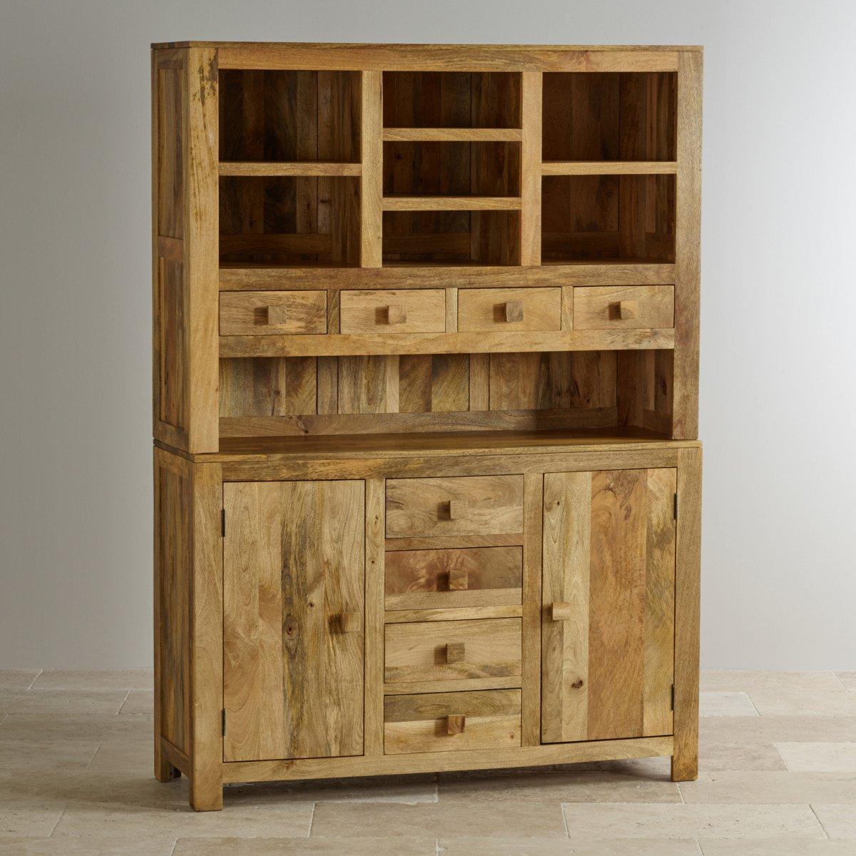Mantis Light Large Dresser In Solid Mango Oak Furniture Land