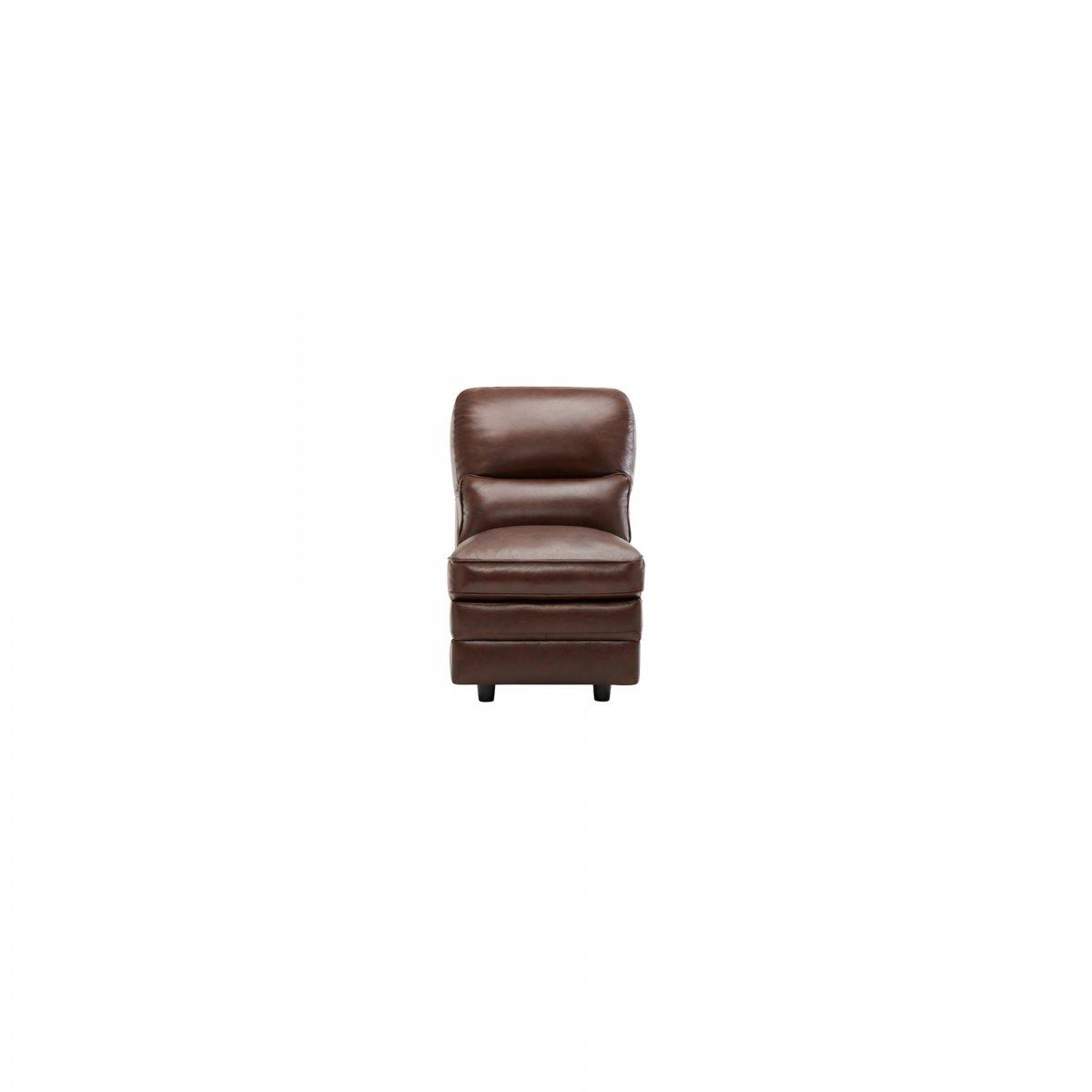 Modena Modular Sofas Group 2 2 Tone Brown Leather