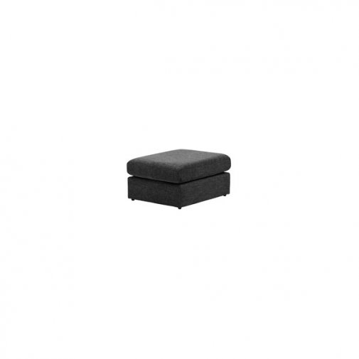 Morgan Footstool in Santos Black