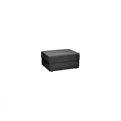 Morgan Storage Footstool in Santos Black