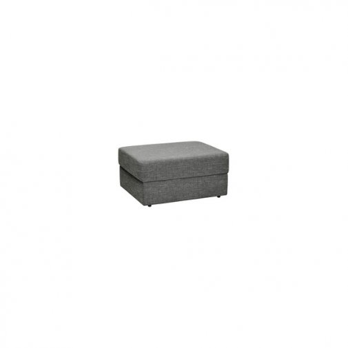Morgan Storage Footstool in Santos Grey