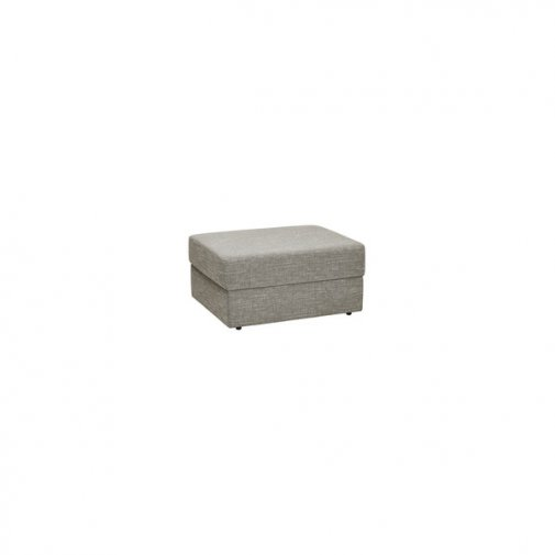 Morgan Storage Footstool in Santos Mink