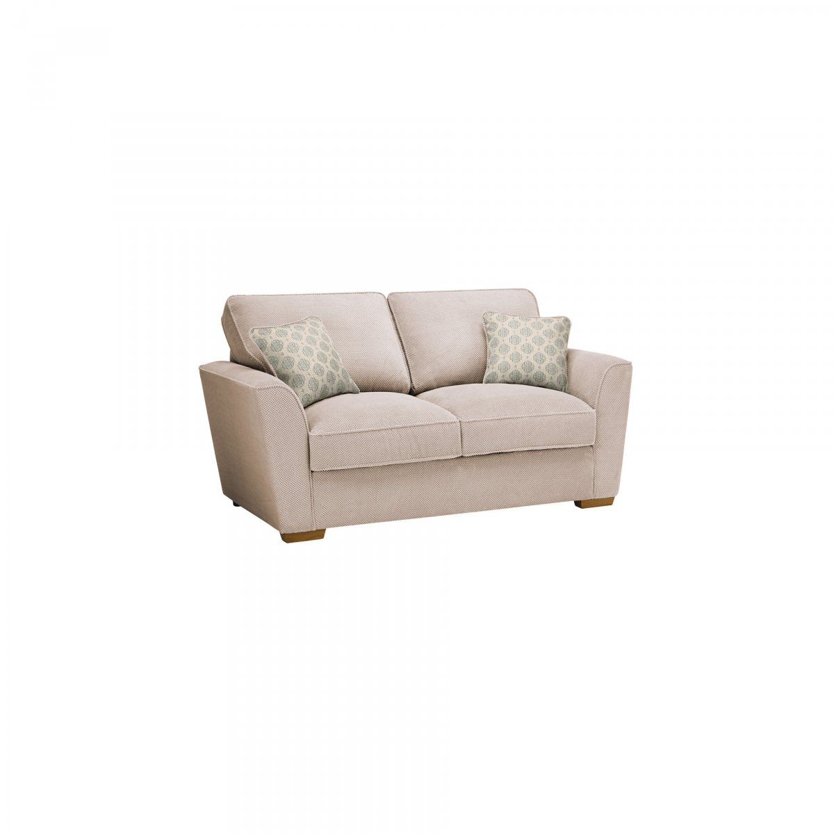 Nebraska 2 Seater Sofa Bed With Deluxe Mattress In Aero Fawn