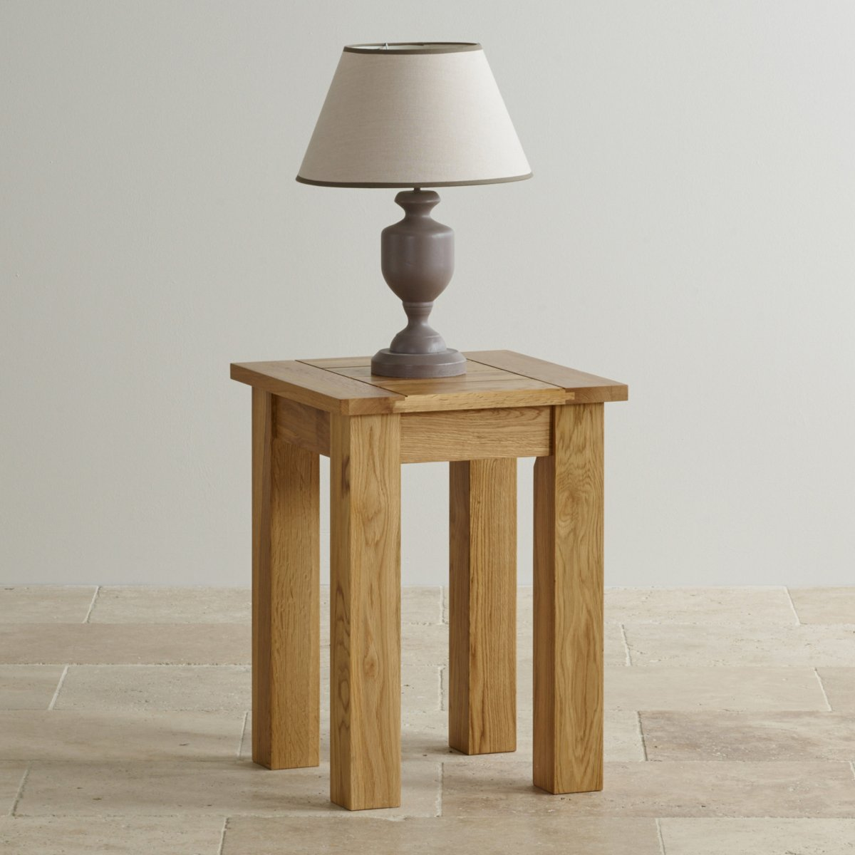 Contemporary natural solid oak lamp table oak furniture land contemporary natural solid oak lamp table sorry your browser does not support this video geotapseo Image collections