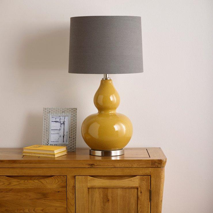 Novara Lamp By Oak Furniture Land