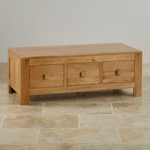 Oakdale 4 Drawer Chest In Natural Solid Oak Oak Furniture Land