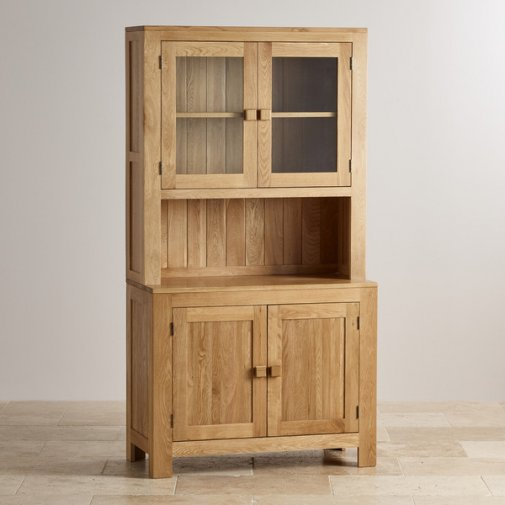 Oakdale Natural Solid Oak Small Dresser