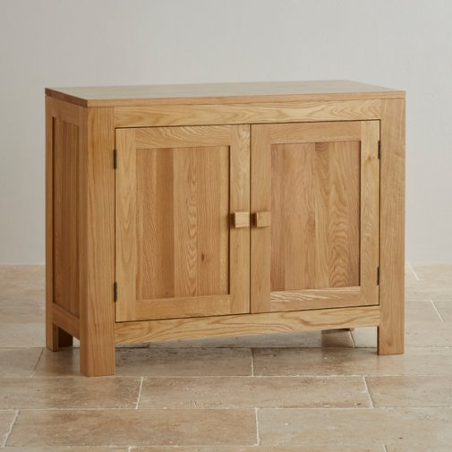 Oakdale Natural Solid Oak Small Sideboard