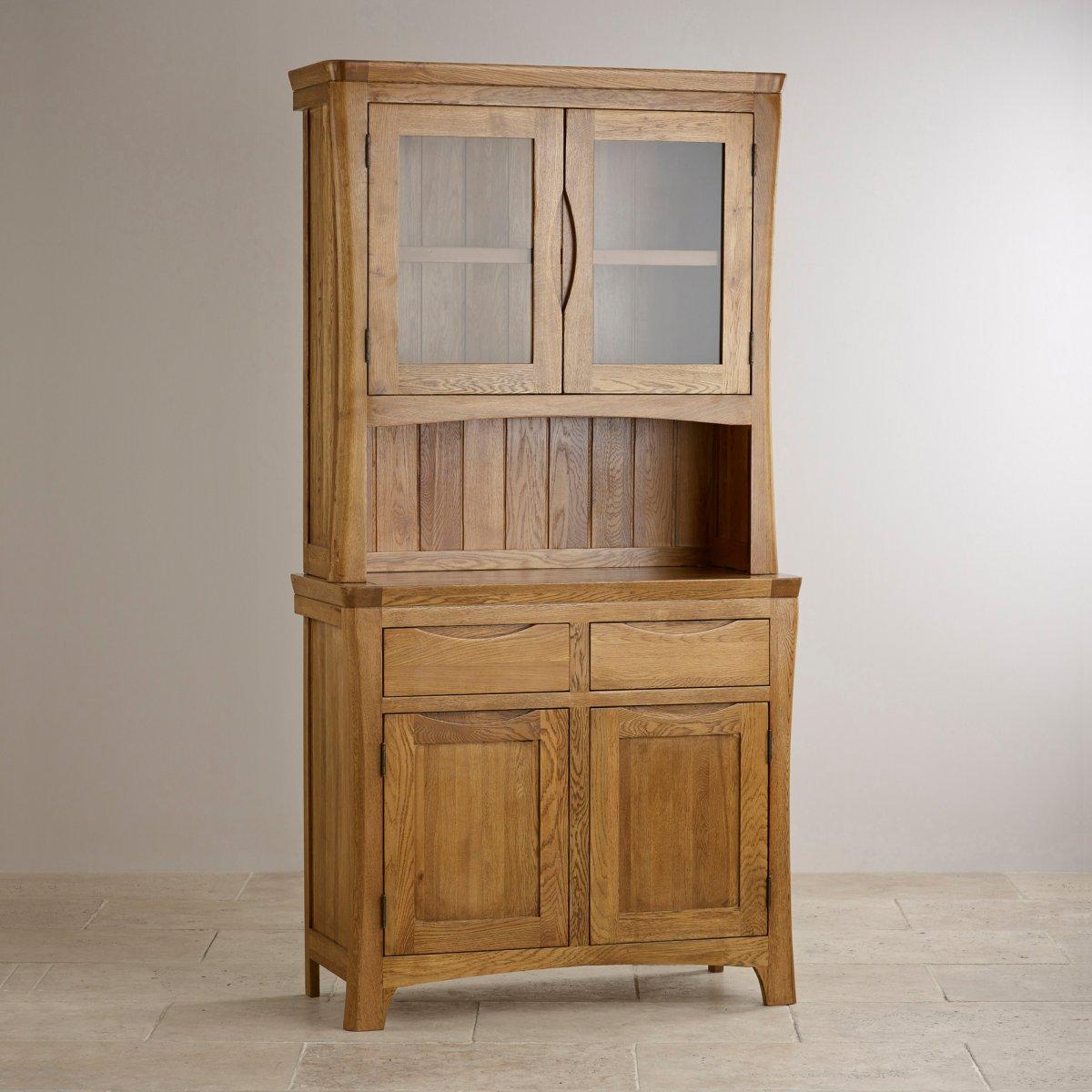 orrick small dresser in rustic solid oak oak furniture land. Black Bedroom Furniture Sets. Home Design Ideas