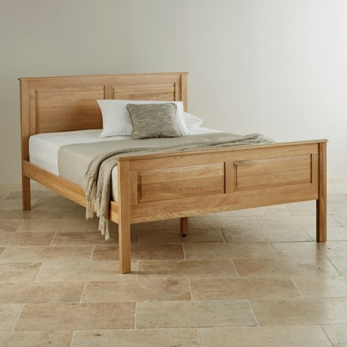 Rivermead Natural Solid Oak 5ft King-Size Bed