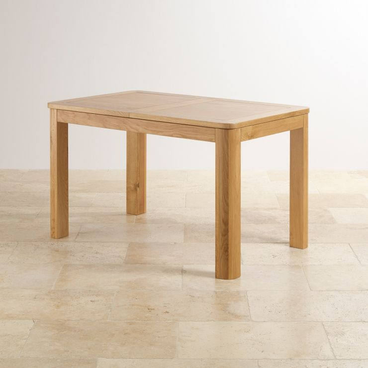 Romsey Extending Dining Table In Solid Oak Oak Furniture Land