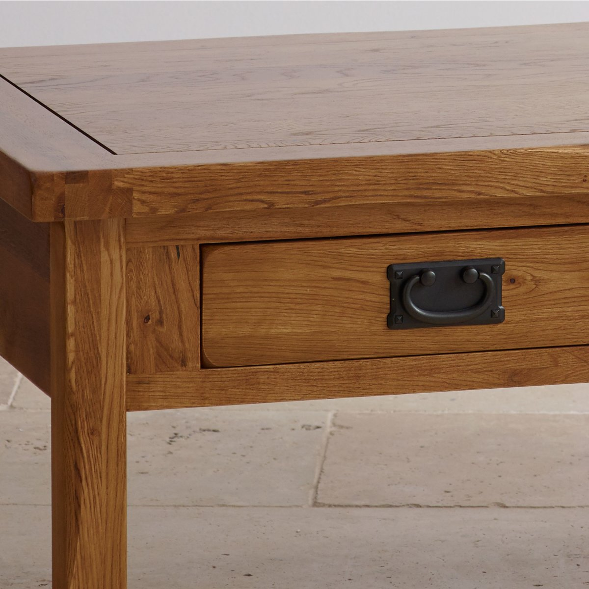 Coffee Table With Gun Drawer Plans: Original Rustic 4 Drawer Coffee Table In Solid Oak