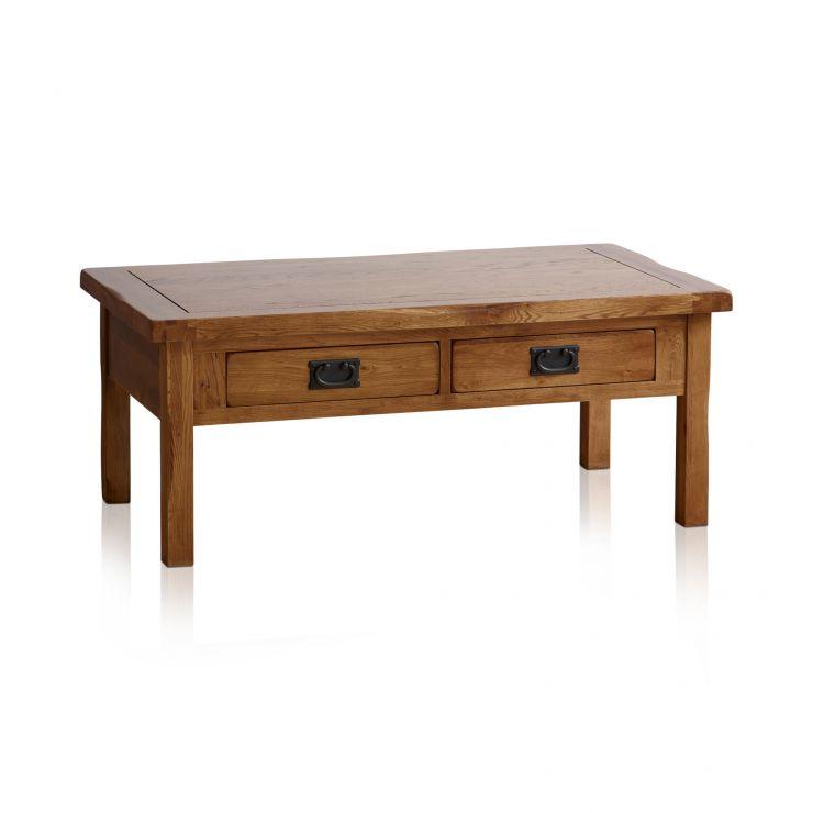 Rustic Coffee Table In 100% Solid Oak