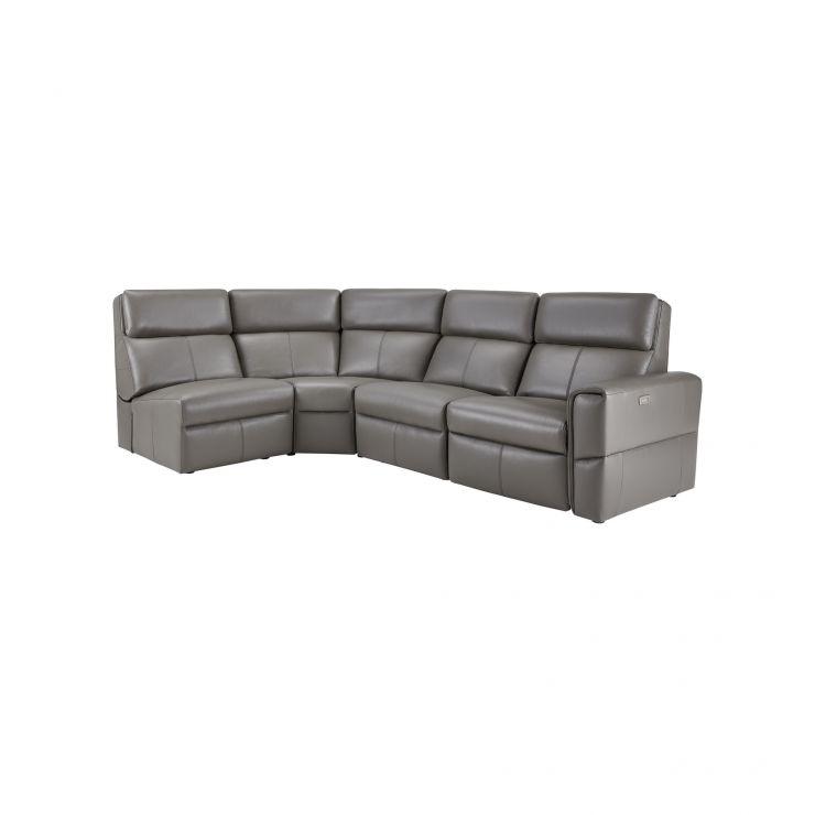 Astonishing Samson Modular Group 5 In Dark Grey Leather Pdpeps Interior Chair Design Pdpepsorg