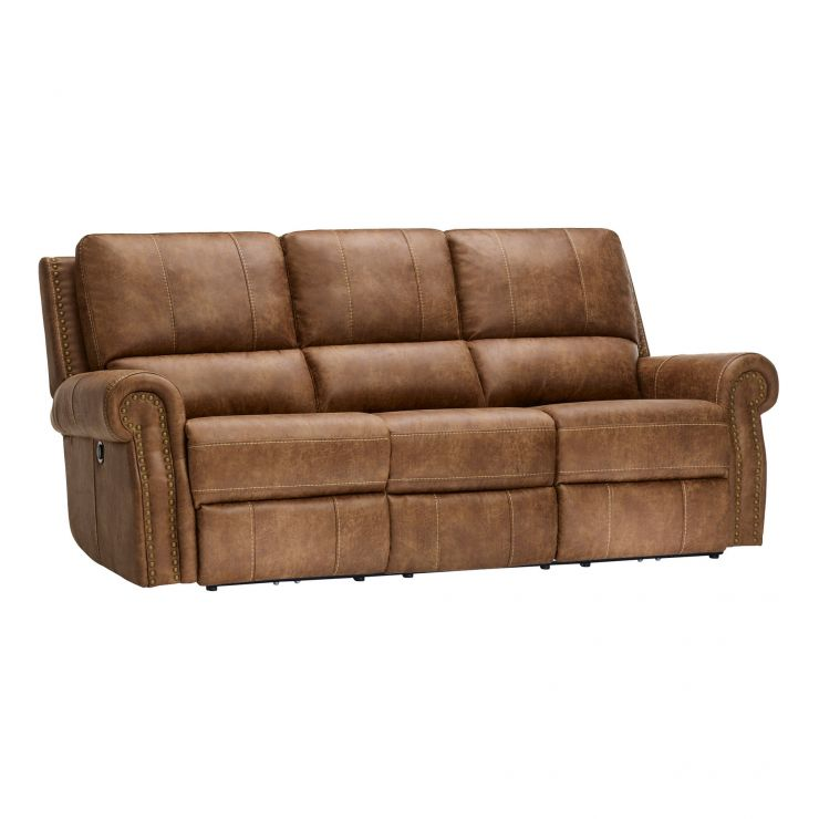 Savannah 3 Seater Electric Recliner Sofa   Image 1