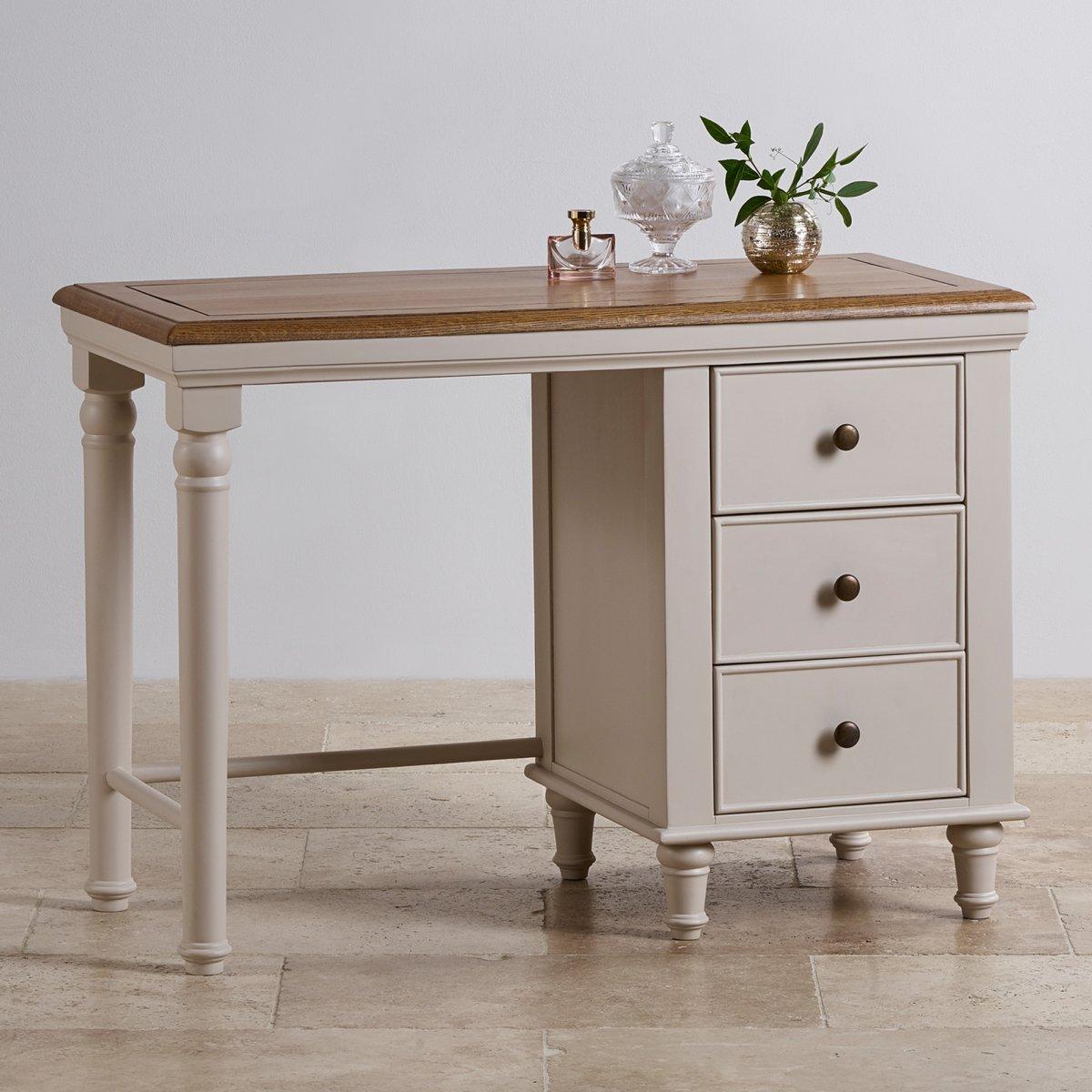 shay dressing table in painted oak oak furniture land. Black Bedroom Furniture Sets. Home Design Ideas