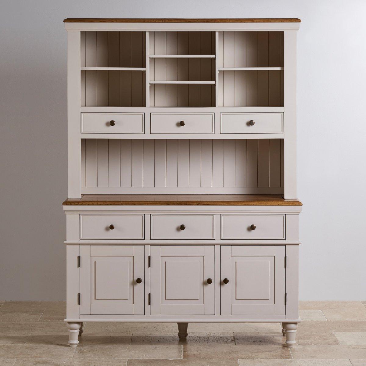 shay large dresser in painted hardwood oak furniture land. Black Bedroom Furniture Sets. Home Design Ideas