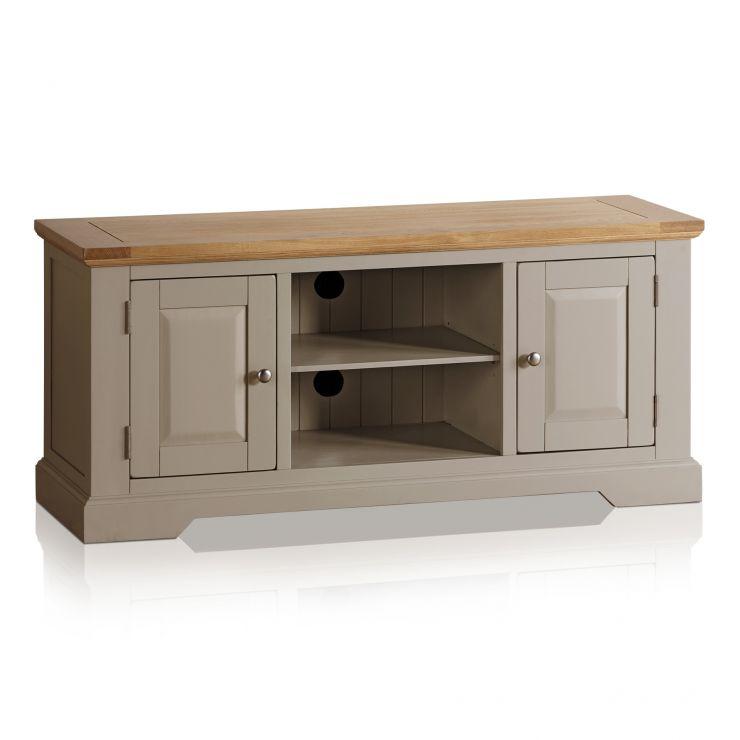 Grey Tv Unit St Ives Oak Furnitureland