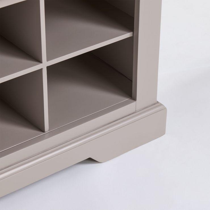Grey Shoe Bench Grey Shoe Storage Charcoal Fabric