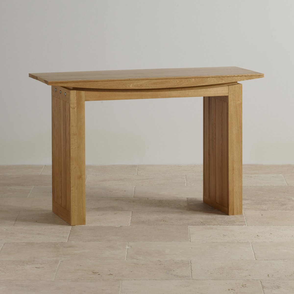 Tokyo Console Table In Natural Solid Oak Oak Furniture Land
