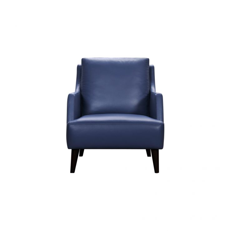 Blue Leather Accent Chair: Trend Blue Leather Accent Chair