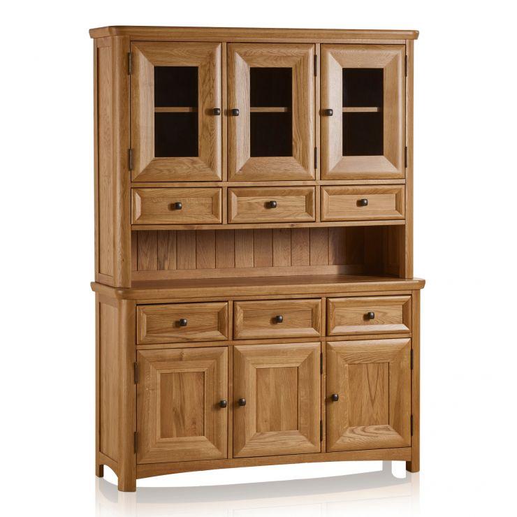 Wiltshire Large Dresser In Natural Solid Oak Oak