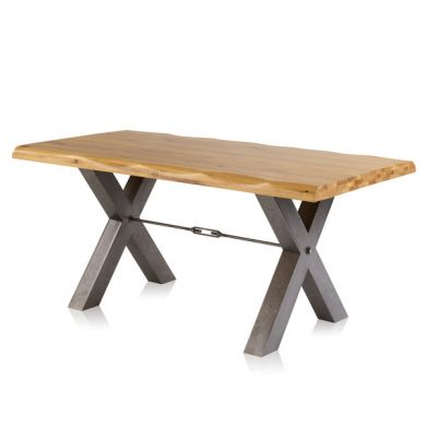 Brooklyn Living Edge Dining Table 1800