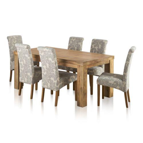 Knightsbridge Round Extending Dining Set Dining Table 4