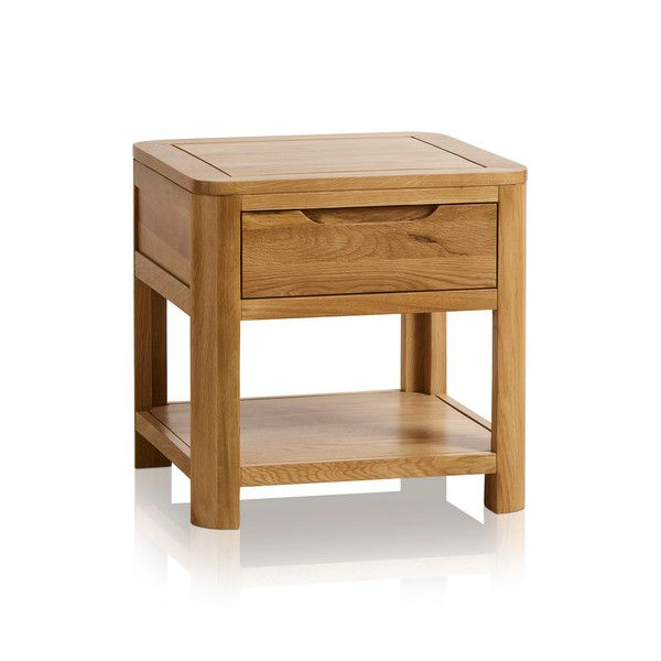 Romsey Natural Solid Oak Side Table