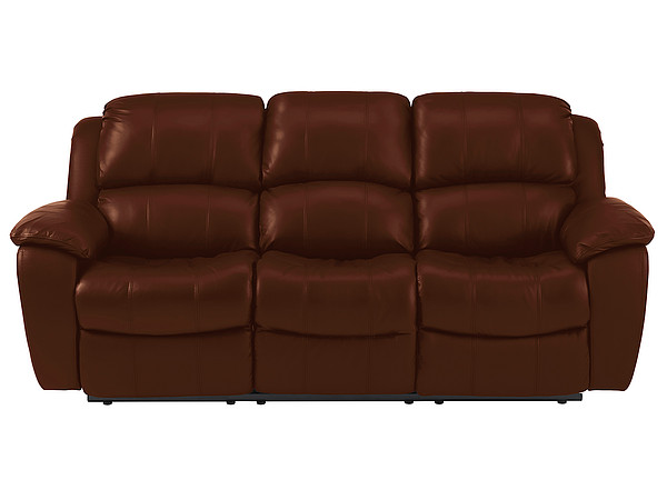 tan leather avon large sofa with manual reclining tan leather more