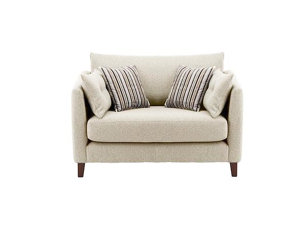 Bari Cuddle Chair in Graceland Light Grey