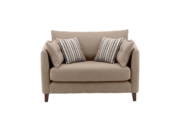 Bari Cuddle Chair in Graceland Taupe