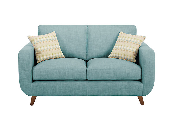 Brooklyn Medium Sofa in Como Duck Egg