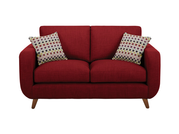 Brooklyn Medium Sofa in Como Red