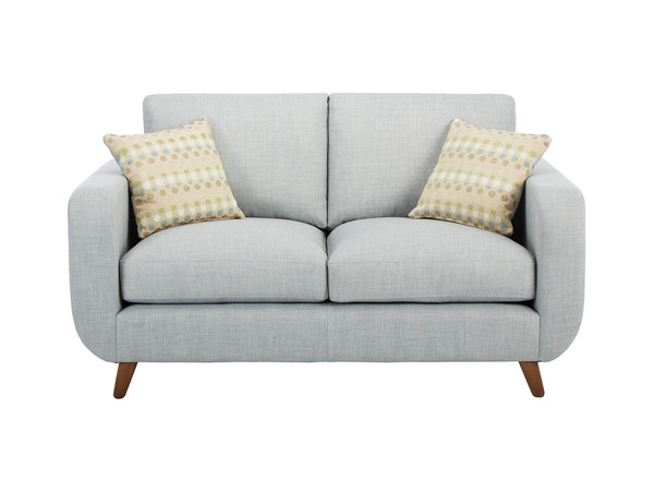 Brooklyn Medium Sofa in Como Silver