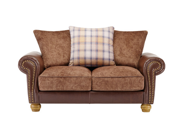 Elizabeth Medium Sofa  Antique Chestnut Leather