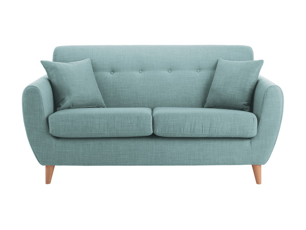 Empire Medium Sofa in Como Duck Egg
