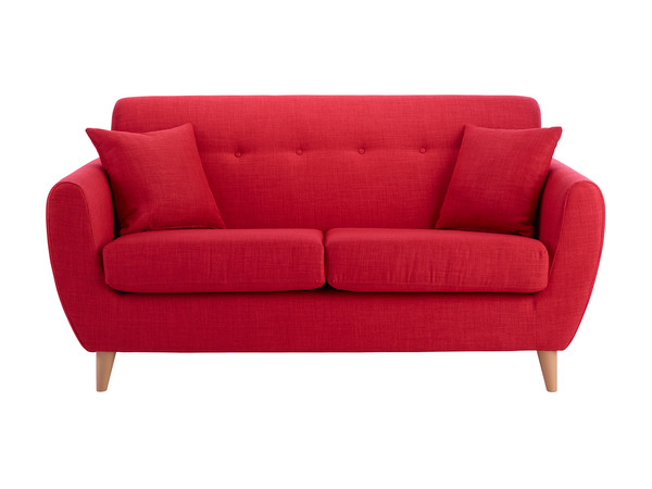 Empire Medium Sofa in Como Red