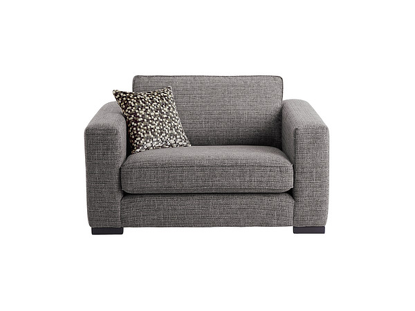 Genoa Cuddle Chair in Sweet Charcoal