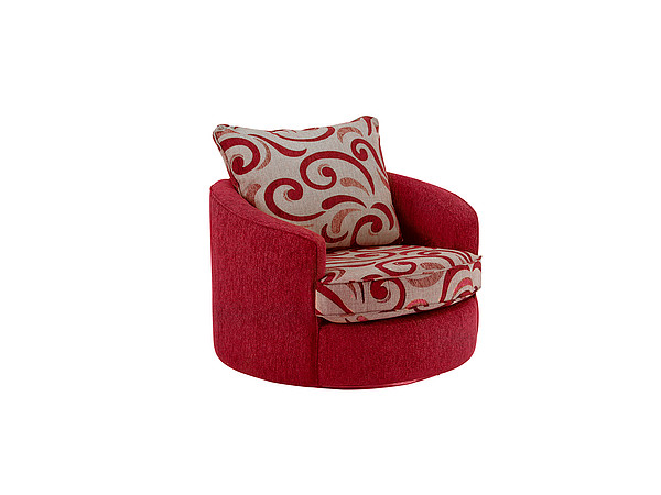 Gina Twister Chair in Red