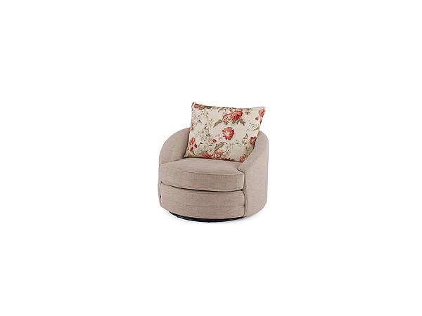 Gower - Gilbert Cuddle Chair in Beige