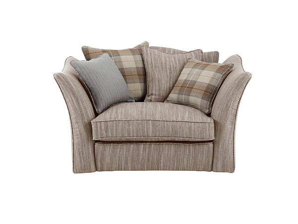 Grand Knole Love Chair in Crombie Mocha