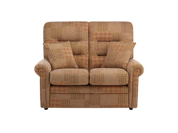 Harlem Medium Sofa in Hawaii - Brown with Brown Scatters