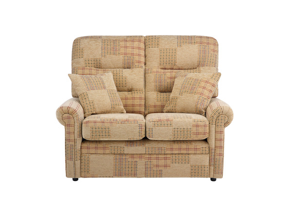 Harlem Medium Sofa in Hawaii - Light Brown with Light Brown Scatters